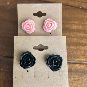 Accessories - Rose earring set